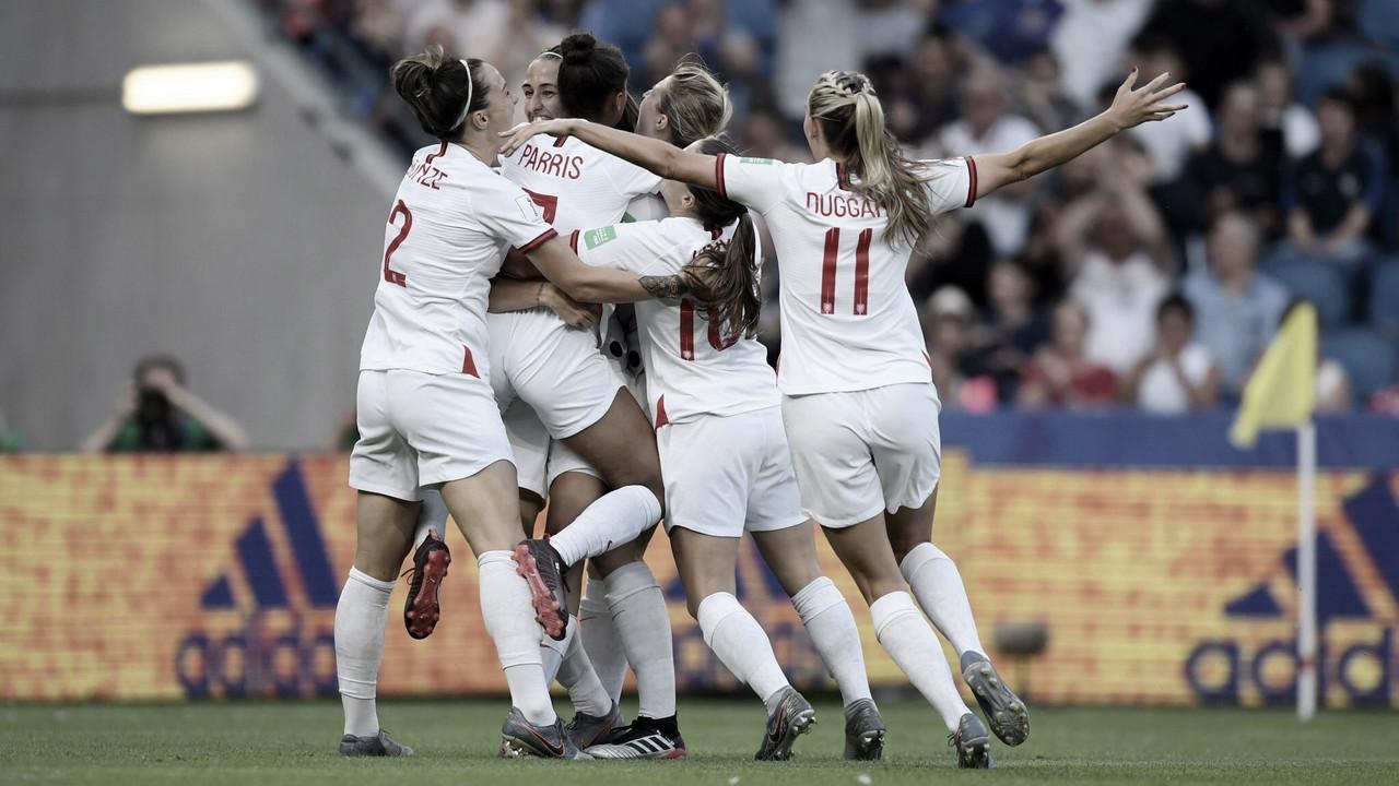 Inglaterra goleia Noruega e avança à semifinal da Copa do Mundo Feminina