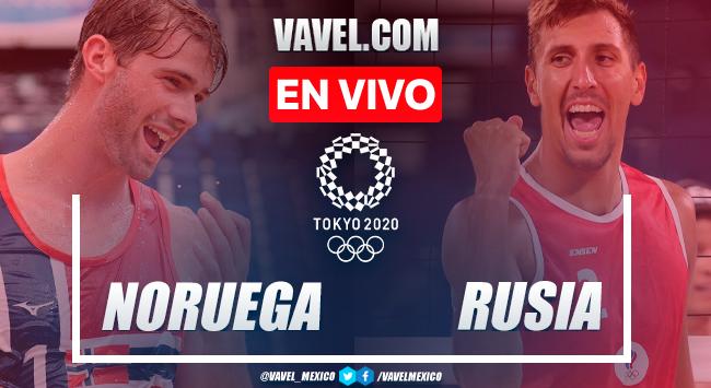 Resumen: Noruega 2-0 Rusia en medalla de oro del Voleibol de Playa Masculino por Juegos Olímpicos 2020