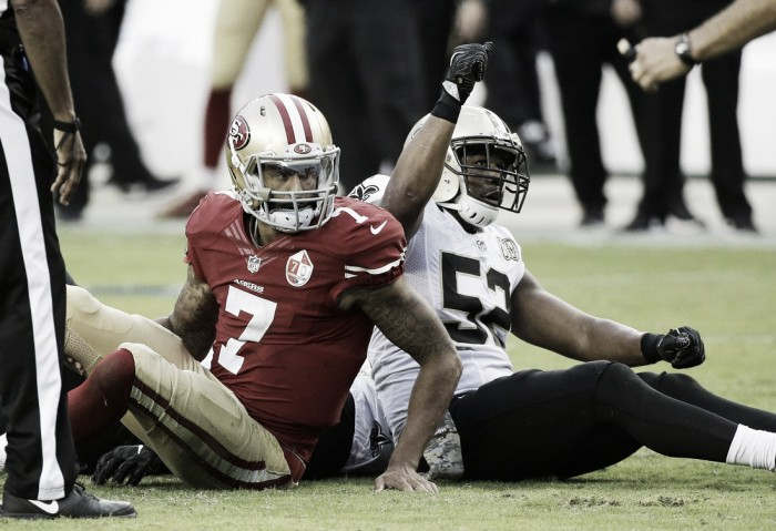New Orleans Saints make it two wins in two against the San Francisco 49ers