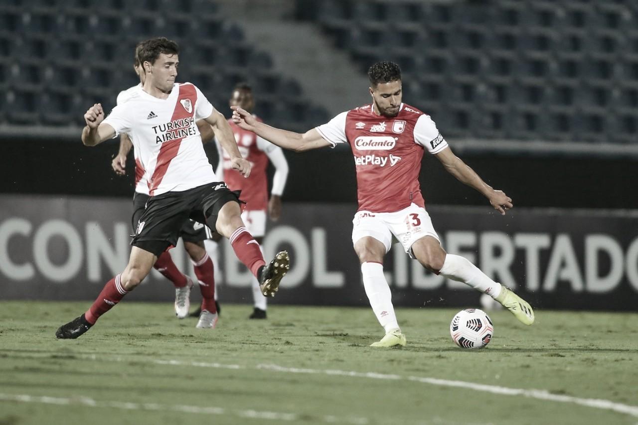 Puntuaciones de Santa Fe tras el empate contra River Plate en Copa Libertadores