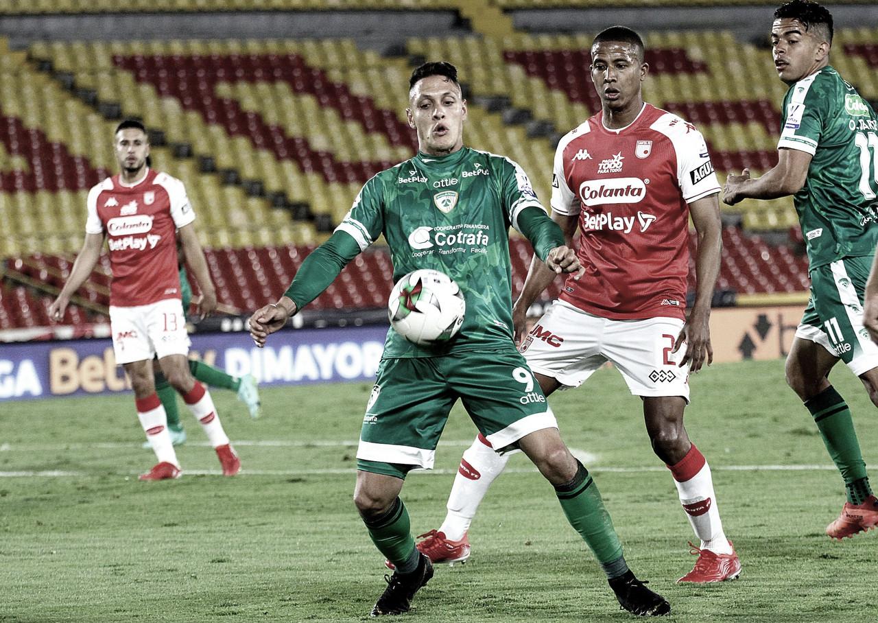 Puntuaciones de Independiente Santa Fe tras caer contra La Equidad