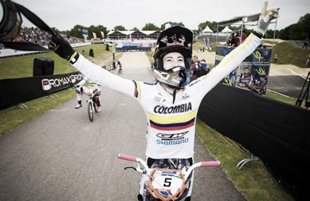En Francia, Mariana Pajón disputará el campeonato clasificatorio de la UCI