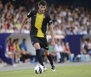Roures le mete el primer gol al Real Zaragoza