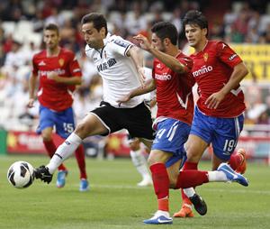 Valencia- Real Zaragoza: puntuaciones del Real Zaragoza