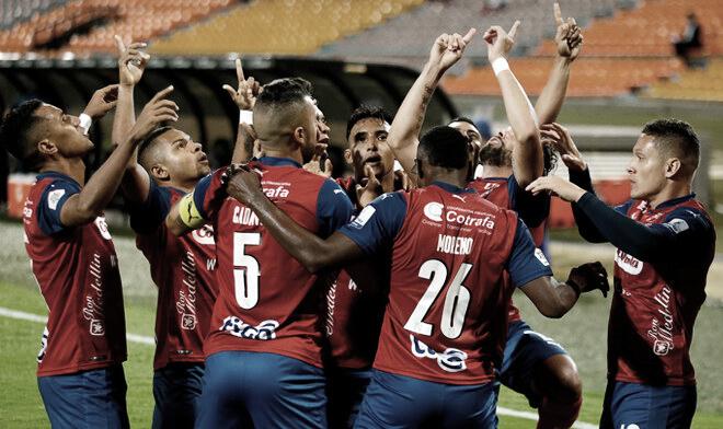 Puntuaciones en el DIM frente a Tolima en la final de la Copa BetPlay