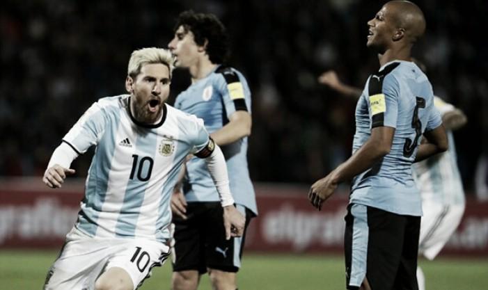Los citados vs Brasil y Colombia