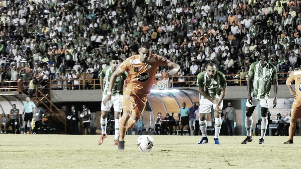 Envigado le amargó el cumpleaños número 72 al Atlético Nacional