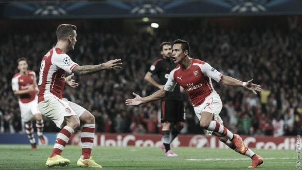 El Arsenal se clasifica para la Champions tras derrotar alBeşiktaş