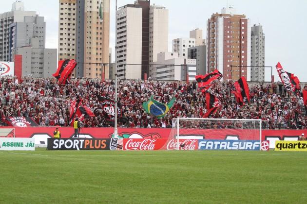 Atlético-PR anuncia seus estádios para o Brasileirão
