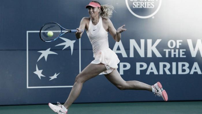 Sharapova sale victoriosa en su regreso en Stanford