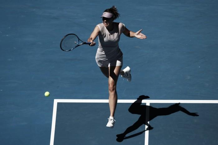 Sharapova da el salto a la tercera ronda del Abierto de Australia