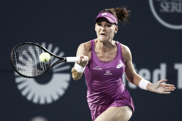 Radwanska, firme en su camino a la defensa del título