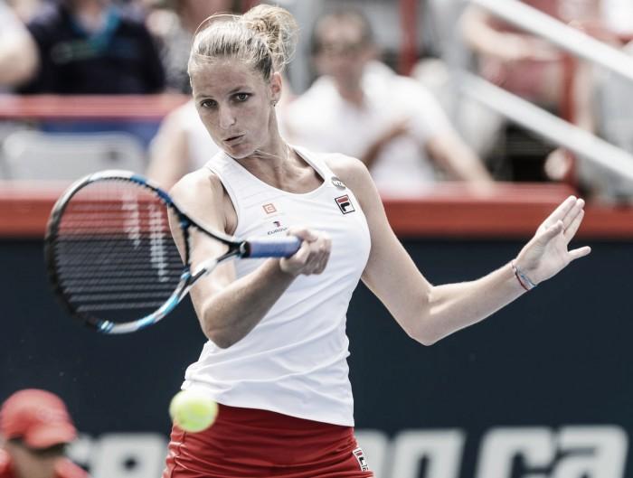 Karolina Pliskova se estrenará en Toronto en la cima del ranking