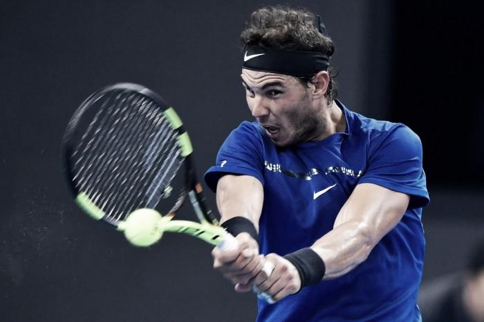 Rafael Nadal, sesenta veces ganador en el año
