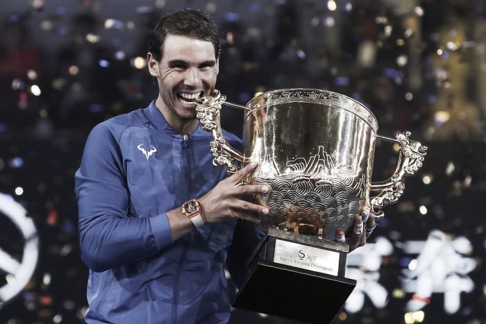 Rafael Nadal, el número uno invicto, conquista Pekín