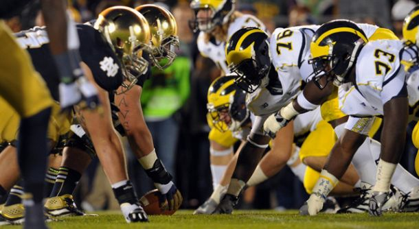 Michigan Wolverines At Notre Dame Fighting Irish Preview