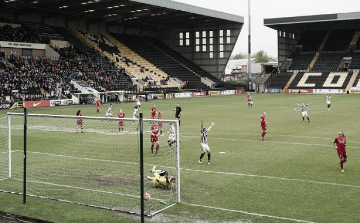 FA WSL 2016 Mid-season review: Notts County