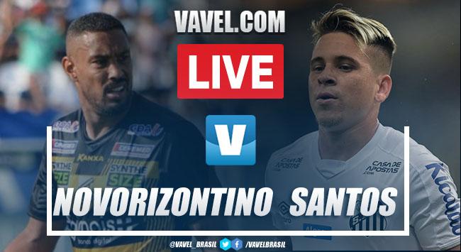 Gols e melhores momentos Novorizontino 3x2 Santos pelo Campeonato Paulista