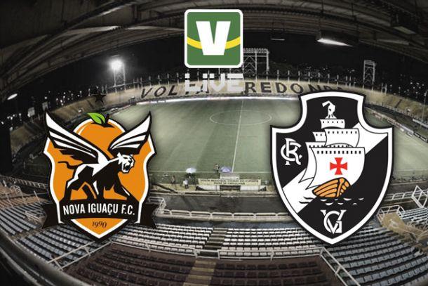 Nova Iguaçu x Vasco da Gama, Campeonato Carioca ao vivo online