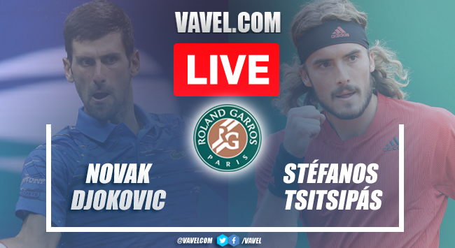 Highlights and Best Moments: Djokovic 3 -2 Tsitsipas in French Open final 2021