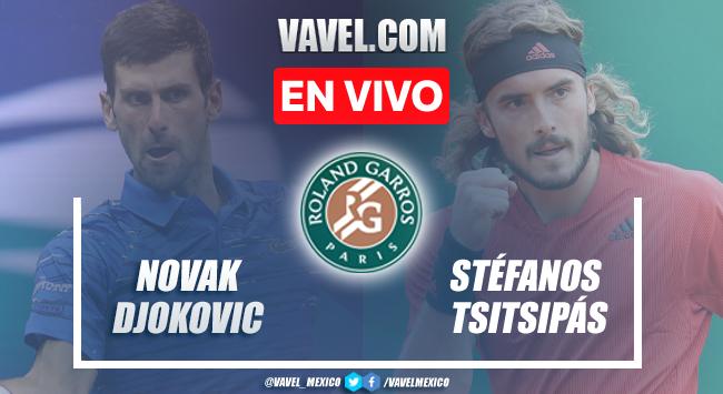 Resumen del Djokovic 3-2 Tsitsipas en Final Roland Garros 2021