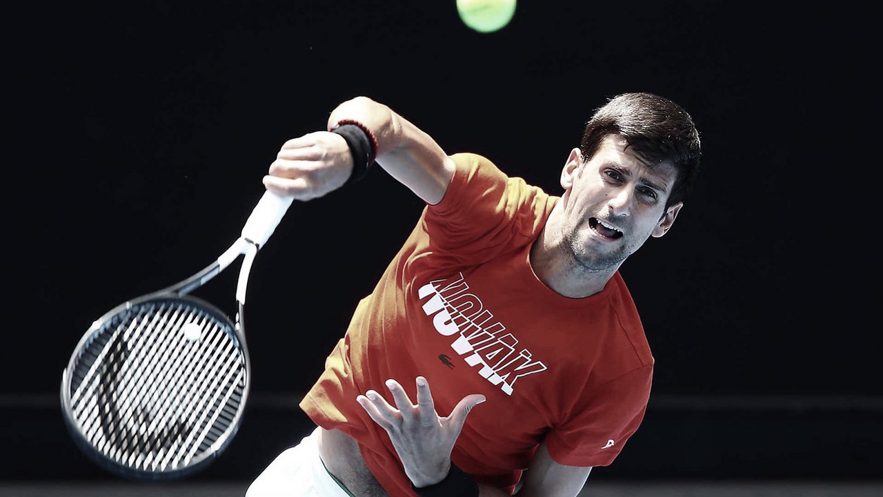 Cuadro masculino revelado en el Australian Open