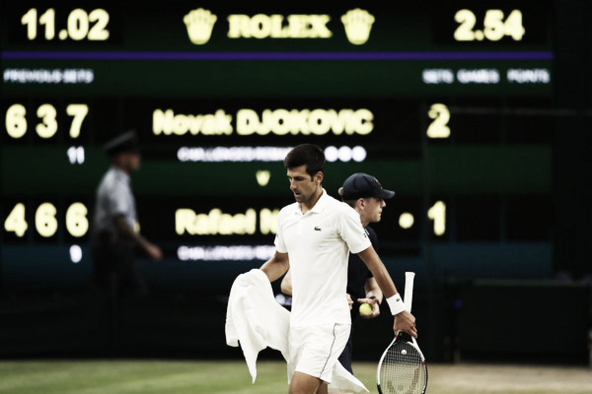 Wimbledon: Novak Djokovic vs Rafael Nadal classic suspended due to curfew