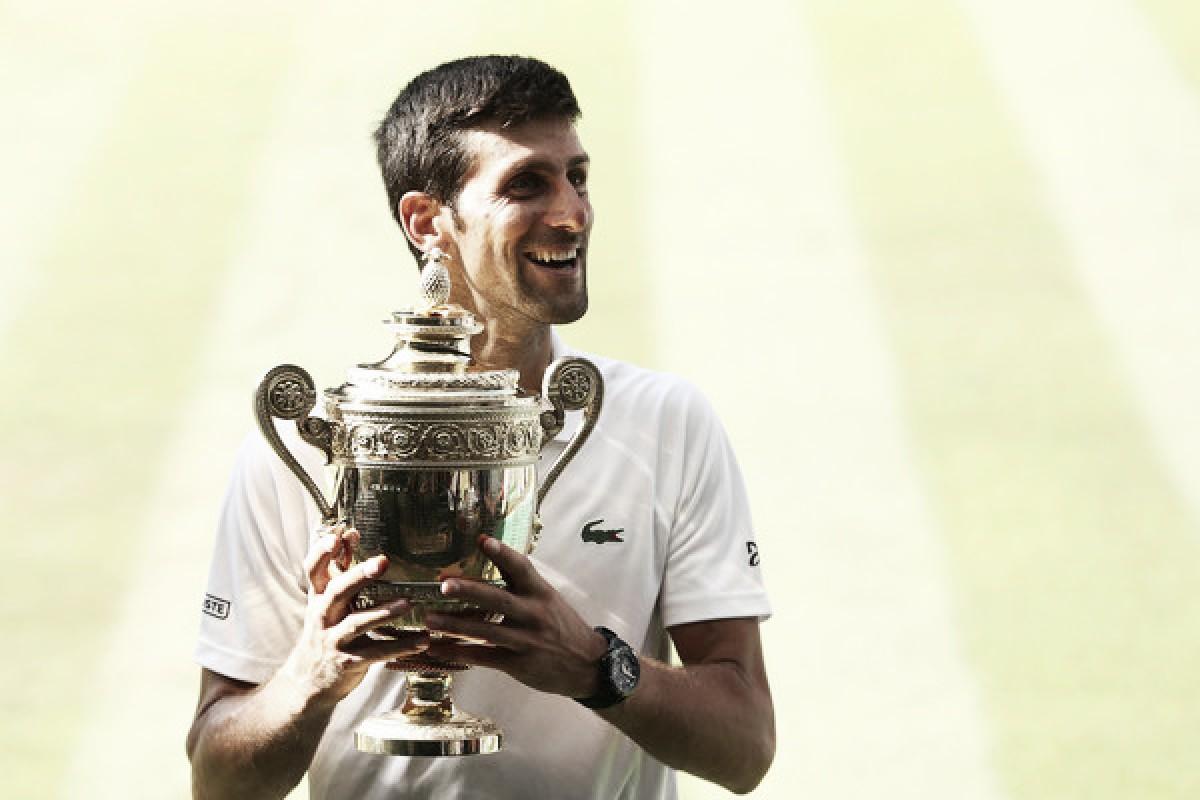 Wimbledon: Novak Djokovic wins The Championships