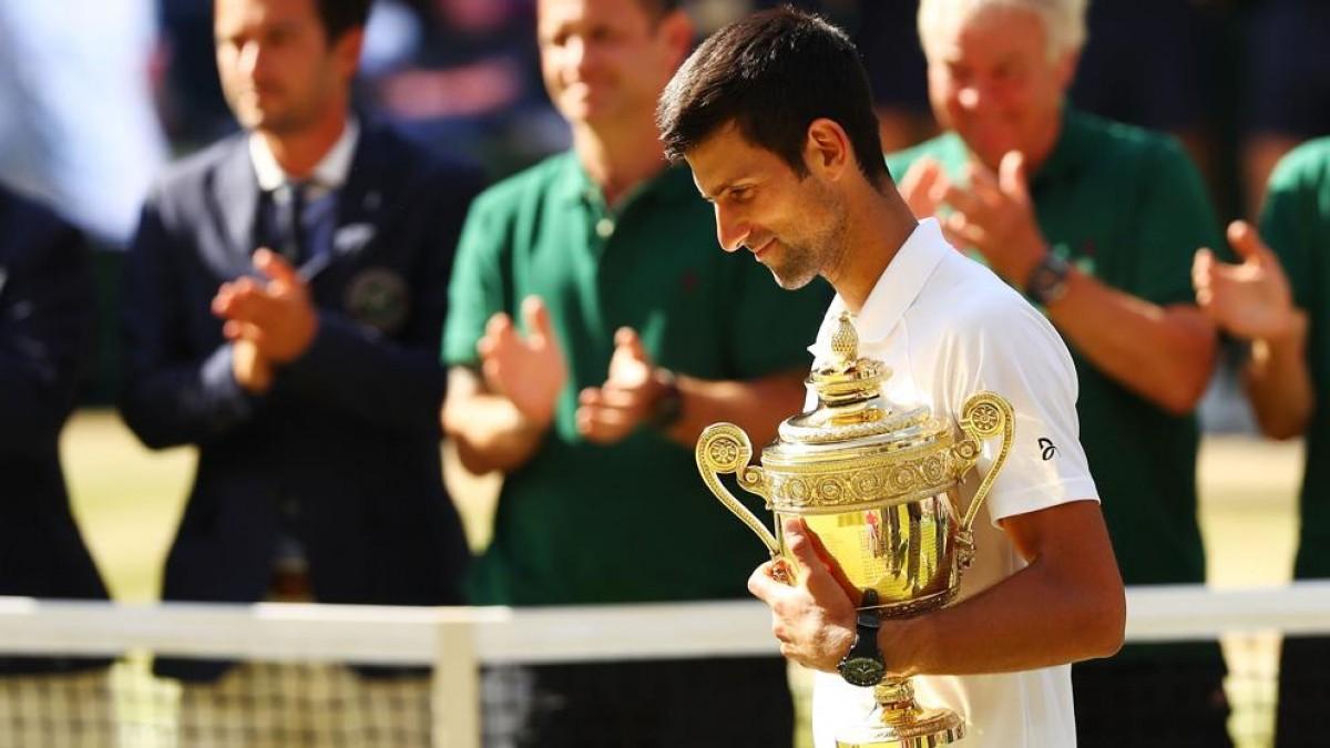 Nole; Monarca de Wimbledon 2018