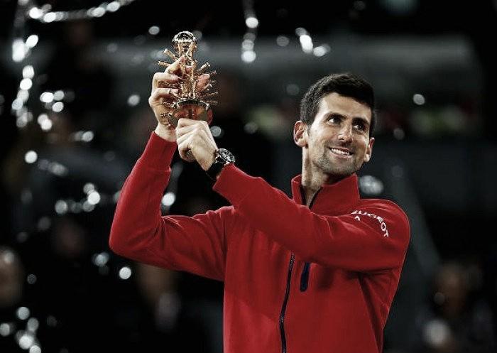 Djokovic vence Murray e é campeão do Masters 1000 de Madri