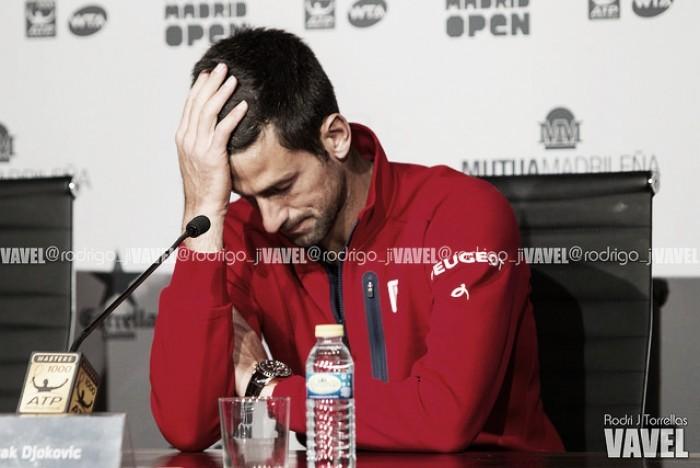 """Novak Djokovic: """"Quizá esté algo exhausto debido a la cantidad de partidos este año"""""""