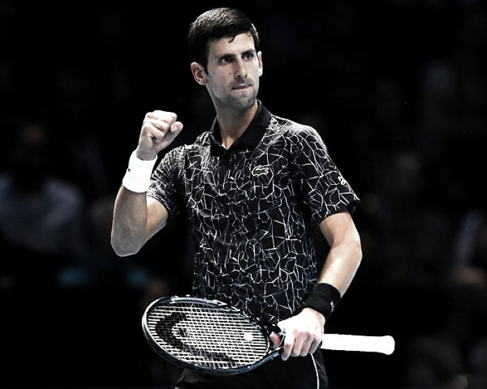 Djokovic arrancó con victoria en Londres