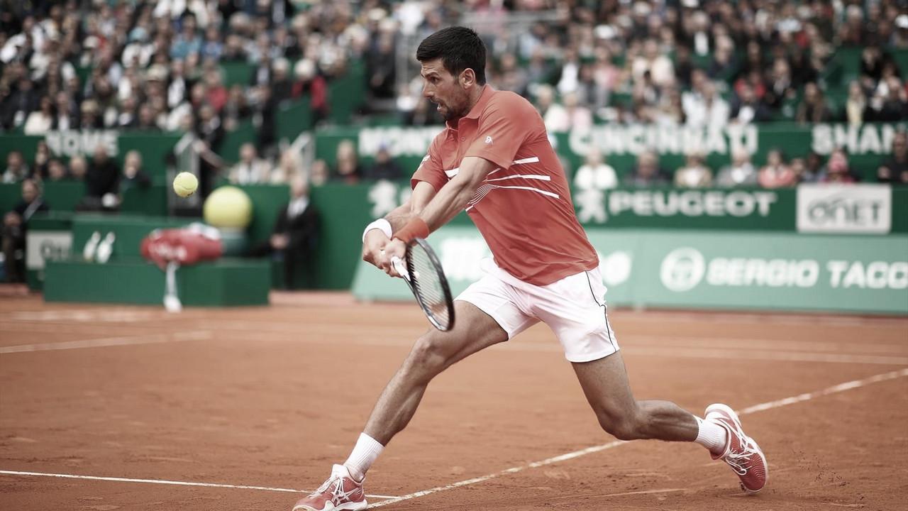 Djokovic y varios tenistas vuelven a los entrenamientos