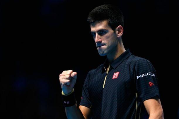 Djokovic se da un festín ante Wawrinka