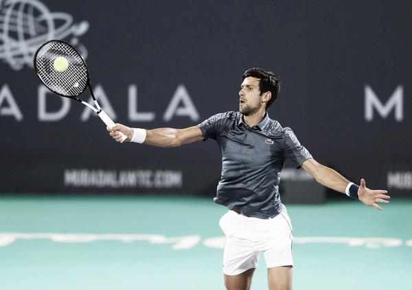 """Djokovic: """"El año pasado aquí mismo todavía tenía la lesión del codo"""""""