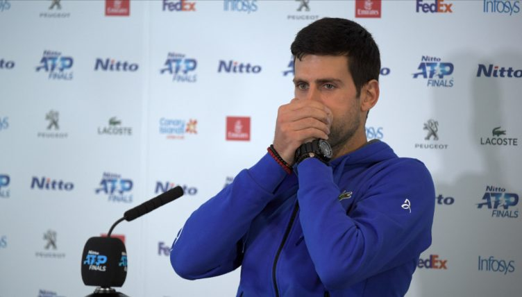 "Nitto ATP Finals: Novak Djokovic was playing ""too neutral"" in loss to Roger Federer"