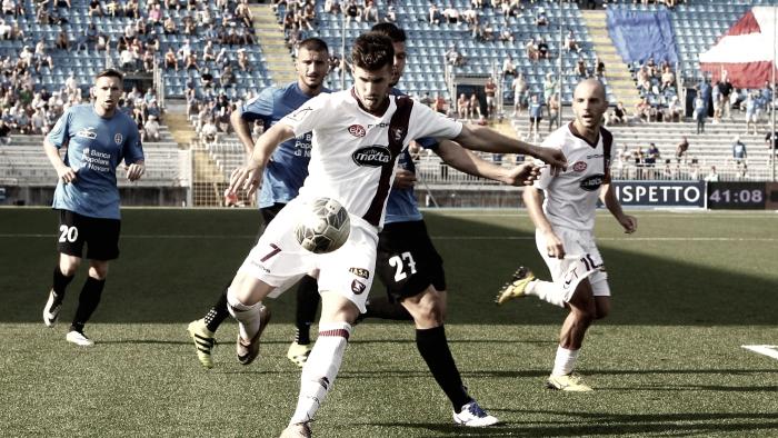 Serie B: 0-0 tra Salernitana e Novara, poche emozioni all'Arechi