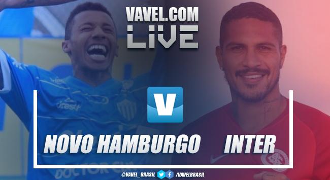 Resultado e gols Novo Hamburgo 0 x 2 Internacional pelo Gauchão