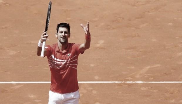 """Novak Djokovic: """"Es un honor ganar este torneo"""""""