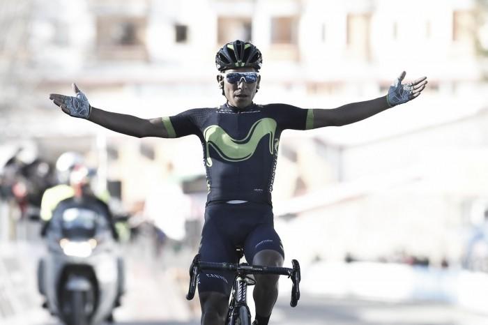 Tirreno-Adriatico, sul Terminillo tappa e maglia a Quintana