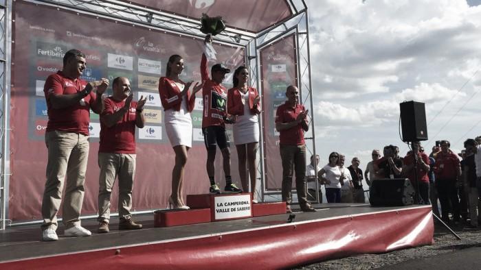 Vuelta 2016, a La Camperona vince Lagutin. Quintana stacca tutti ed è maglia rossa