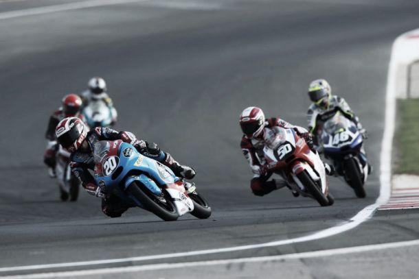 Caos en Moto3 y sexta victoria para Fabio Quartararo en Navarra