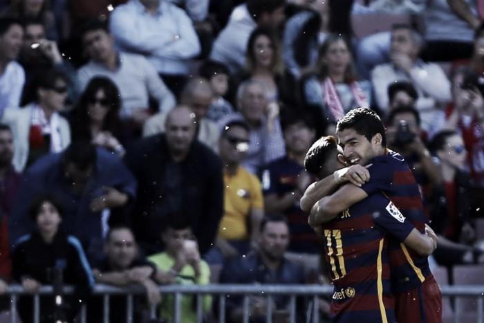 Liga, il Barcellona è campione di Spagna 2016. A Granada altra tripletta di Suarez (0-3)