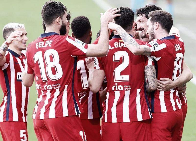 Cádiz - Atlético de Madrid: puntuaciones del Atlético de Madrid en la jornada 21 de LaLiga