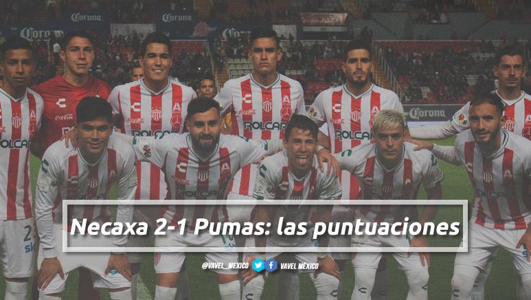 Necaxa 2-1 Pumas: puntuaciones de Necaxa en la jornada 2 de la Liga MX Clausura 2019