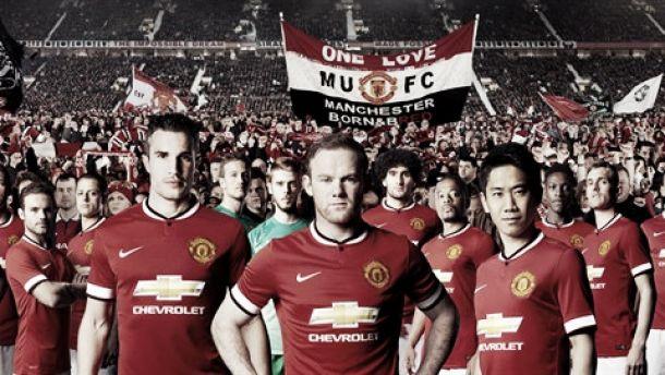 El Manchester United presenta su primera equipación para la temporada 2014/15