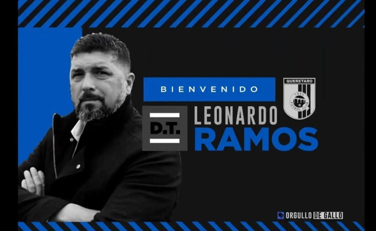 Querétaro ya tiene nuevo técnico