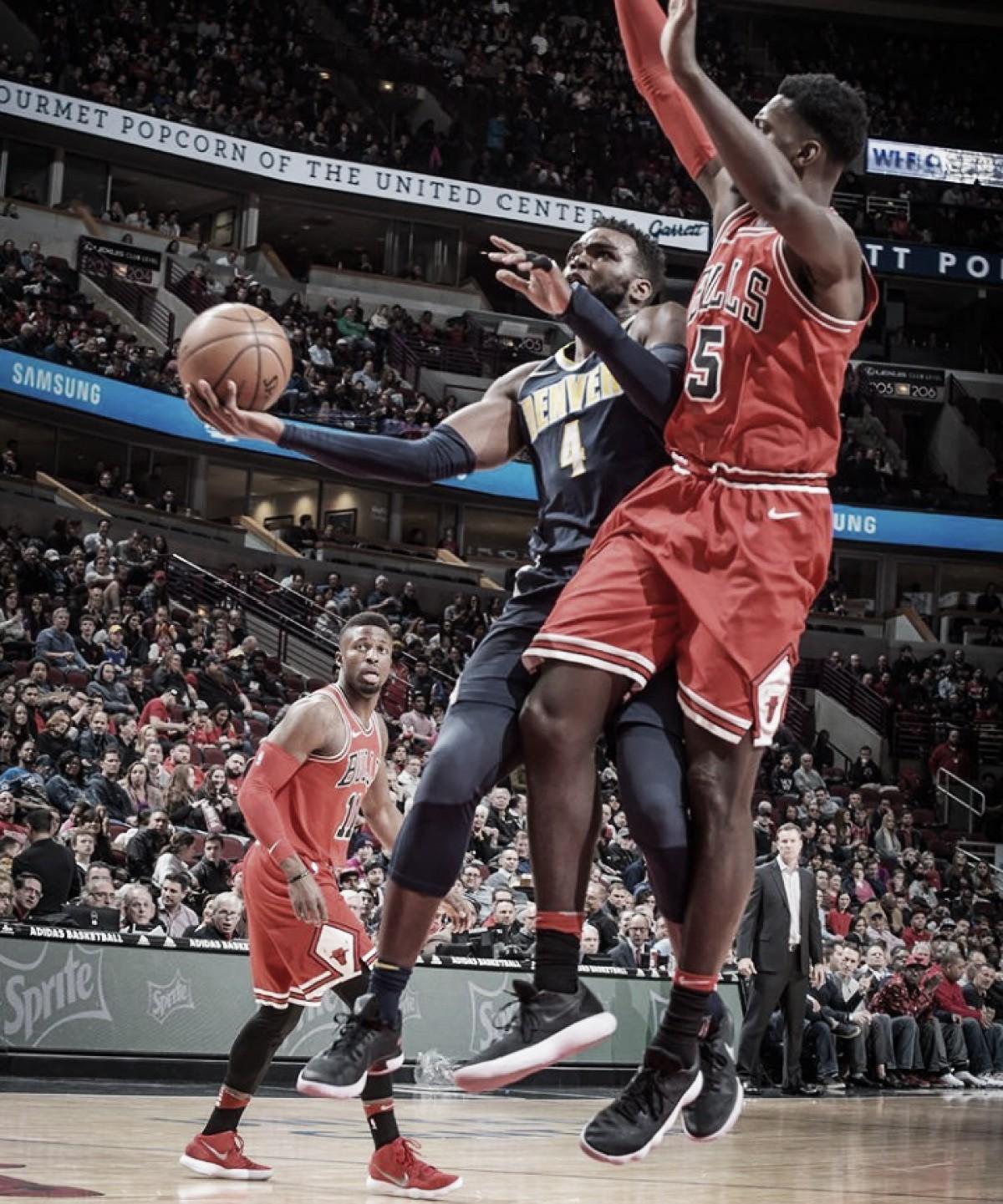 Los Nuggets derrotan a Bulls