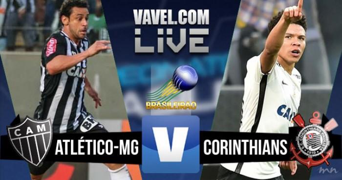 Resultado Atlético MG x Corinthians pelo Brasileirão 2016 (2-1)