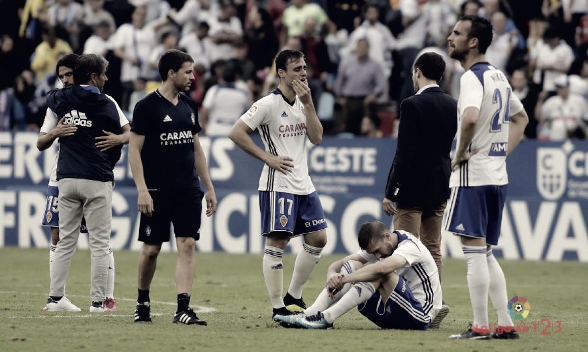 Puntuaciones Real Zaragoza – Numancia, vuelta primera fase playoff